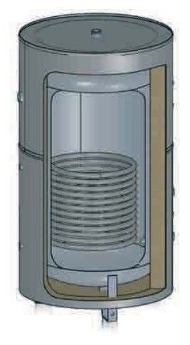 BALLON EAU CHAUDE SANITAIRE : BALLON PREPARATEUR ECS SERPENTIN SIMPLE ou DOUBLE : LACAZE ENERGIES