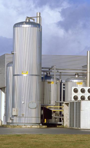BALLON STOCKAGE AGRO-ALIMENTAIRE AVEC BRULEUR GAZ HYDROGAZ INDUSTRIEL CUVE BACHE : LACAZE ENERGIES
