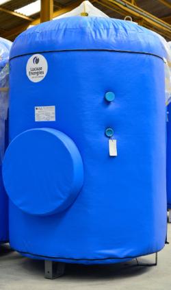 BALLON EAU CHAUDE SANITAIRE : ACIER NOIR SOLAIRE CUVE BACHE LACAZE ENERGIES