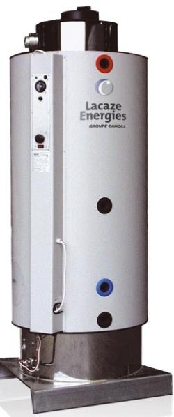 EAU CHAUDE SANITAIRE : PRODUCTION EAU CHAUDE SEMI-INSTANNE ACCUMULATEUR ECS A GAZ : LACAZE ENERGIES
