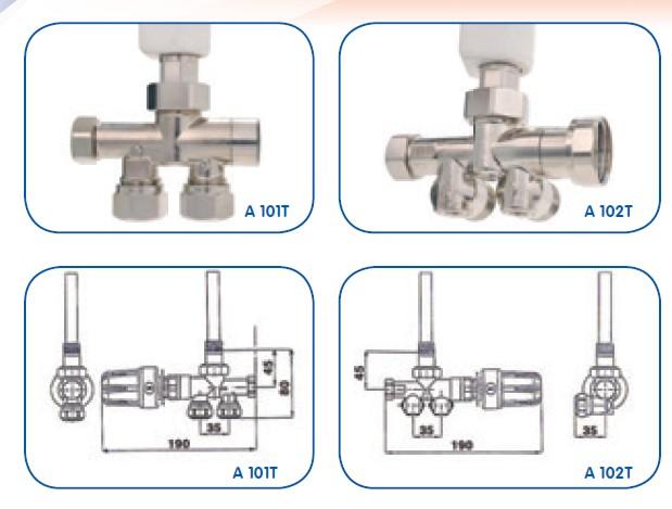 Vanne robinet seche serviette thermostatisable tmc energ tique diffusion - Comment changer une vanne thermostatique sur un radiateur ...