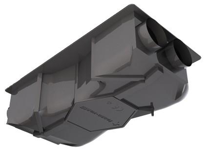 recuperateur de chaleur rec he200 tecno ventil. Black Bedroom Furniture Sets. Home Design Ideas